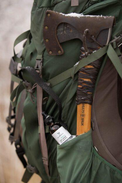 CBD hemp oil drops for hiking