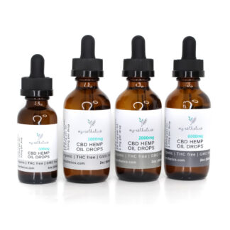 Organic CBD Hemp Oil Drops