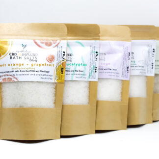 CBD Bath Salts with Aromatherapy