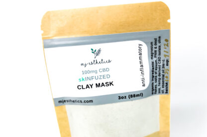 CBD clay mask