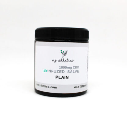 Plain CBD pain salve